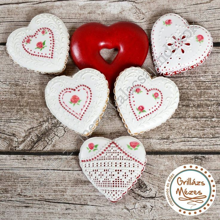 Heart Cookies With Icing