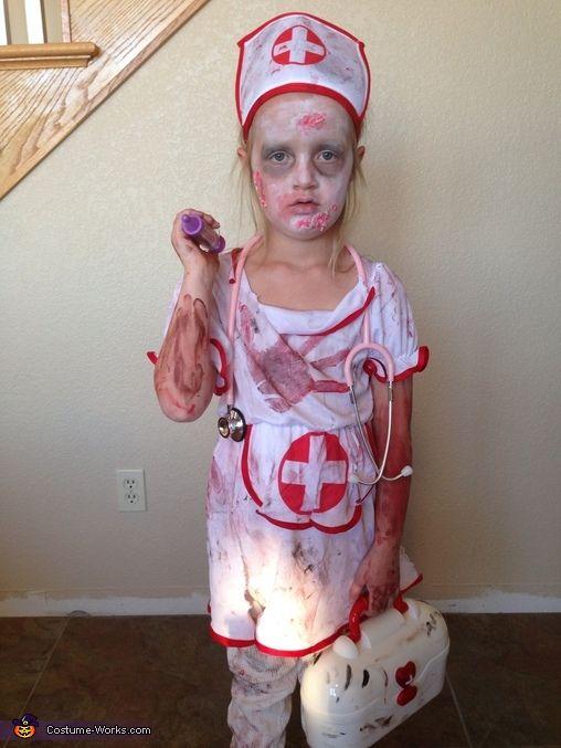 Zombie Nurse - 2013 Halloween Costume Contest