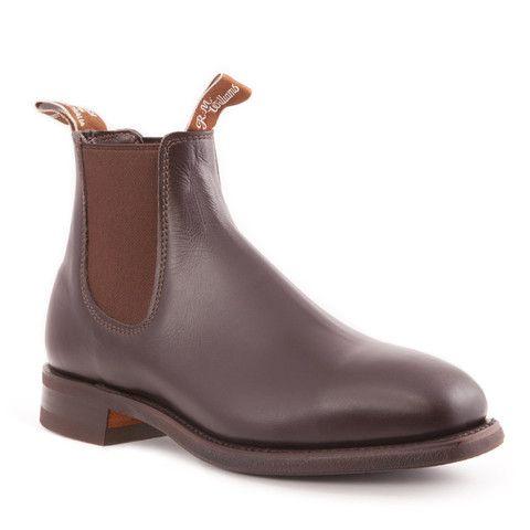 Australian Boot Company | B543 Comfort Craftsman - Yearling Chestnut