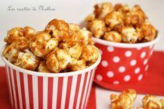 Pop Corn caramélisé : la recette facile