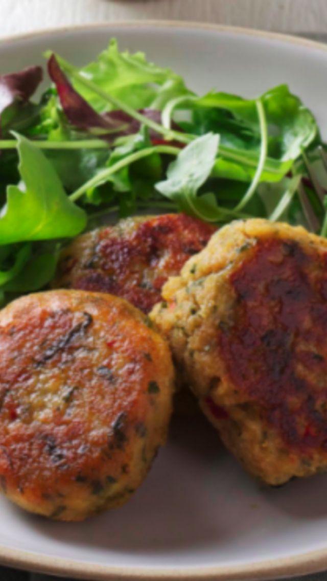 Persian Spiced Lentil Patties Recipe