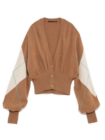 Argyle Hırka (Hırka) | stil / (şekillendirme) | moda posta | tavşan çevrimiçi resmi posta siparişi sitesi