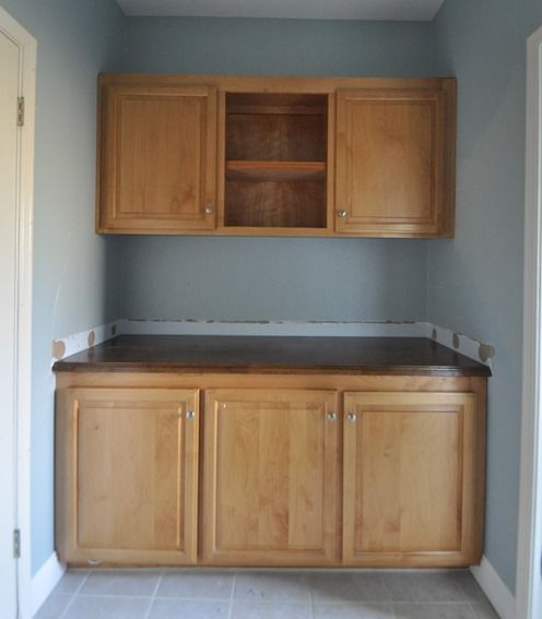 Centsational Girl » Blog Archive » Painted Bathroom Cabinets