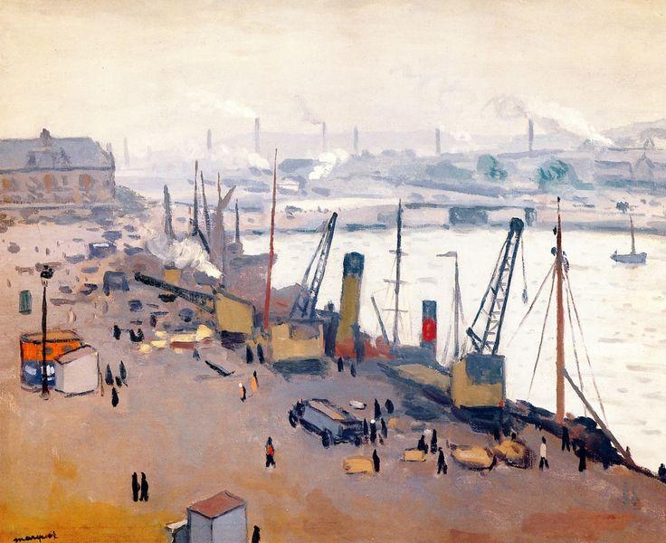 The Port of Boulogne -  Albert Marquet