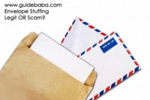 Envelope Stuffing Work from Home Jobs – Real, Legit or Scam