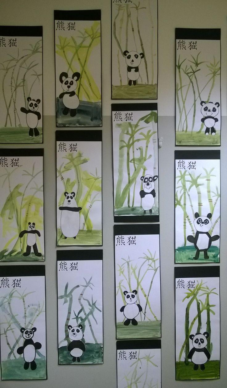 Kiinalaisia pandoja (1.lk)