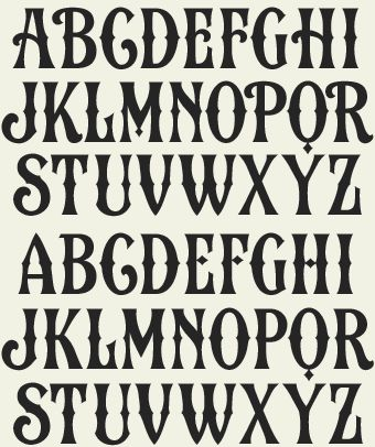 Best 25+ Western fonts ideas on Pinterest | Circus font, Vintage ...