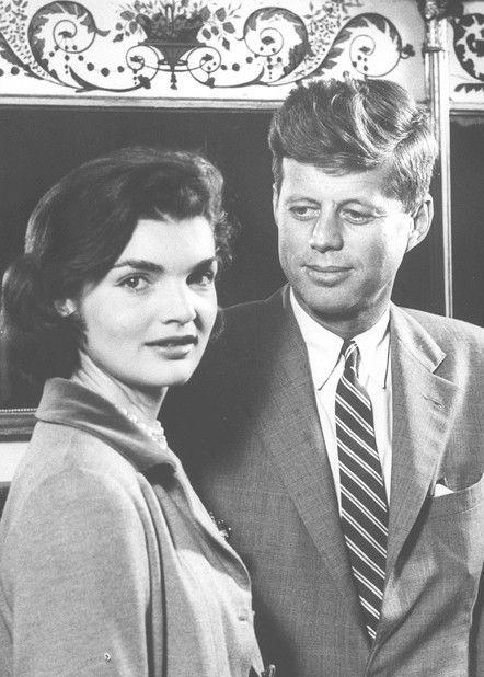 President Kennedy & First Lady Jacqueline Kennedy
