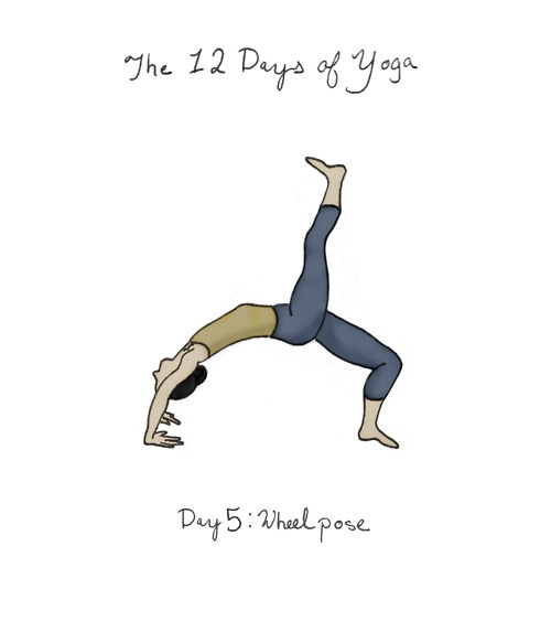 Day Five: How To: Lying On Your Back, Bend Your Elbows