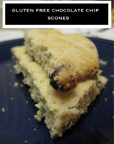 gluten free chocolate chip scones | Healthy Breakfast | Pinterest