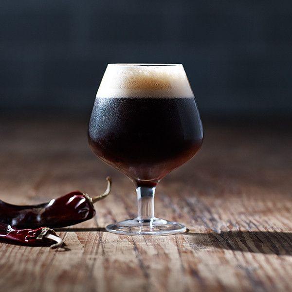 Guajillo Chile Beer - Torn Label Brewing Co. Beer photography with RW2 Studios #beer #craftbeer #beerdesign