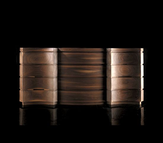 artisan studio collection of solid walnut sculptural furniture find this pin and more on side cabinet
