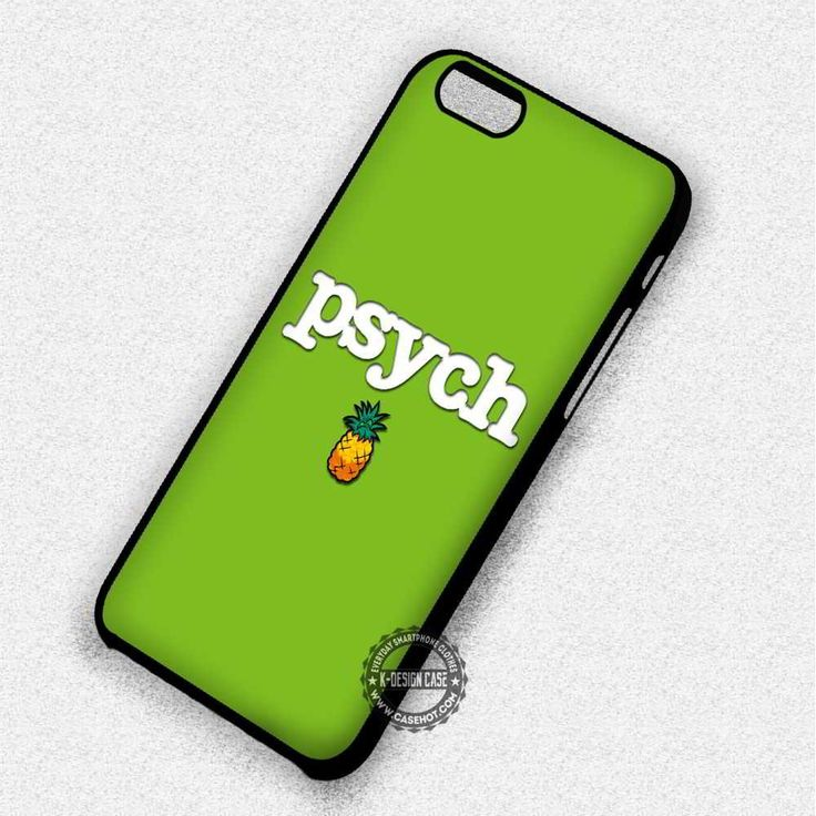 Cute Small Pine PSYCH Movie - iPhone 7 6 5 SE Cases & Covers