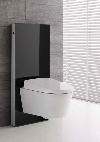 Ensemble wc suspendu monolith en verre noir geberit tendance wc suspendu - Ensemble wc suspendu ...