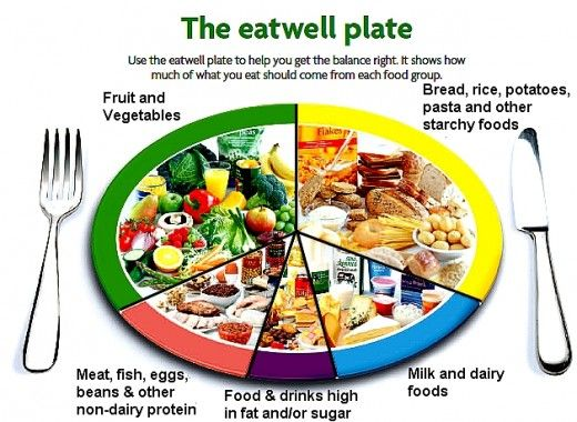 The UK Eatwell Plate