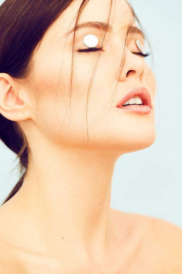 """""""Pastel Reflections""""  Beautiful Ines Garcia Hair & Makeup by Inga Hewett . Hero Creative Management   #beauty #model #editorial #herocreative #summer #portrait #makeup #hair #portraitofawoman #beautifulmodel #pastels #ingahewett #paulotoureiro #inesgarcia"""