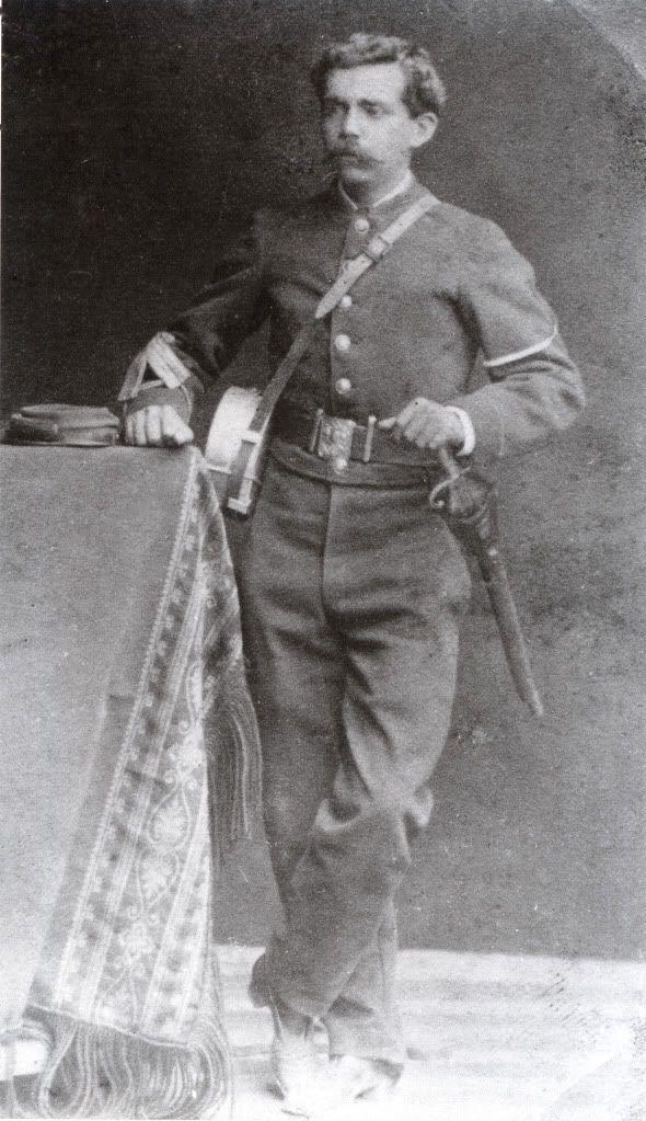 Sargento 1° del Regimiento Buin, sin identificar