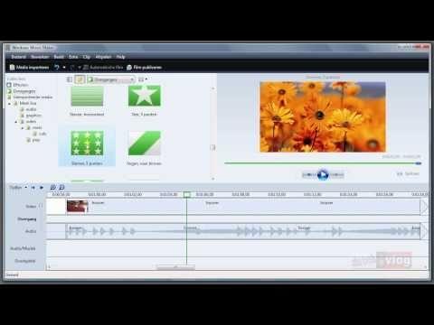 Dutchvlog Movie Maker Tutorial 5/6 - De Tijdlijn
