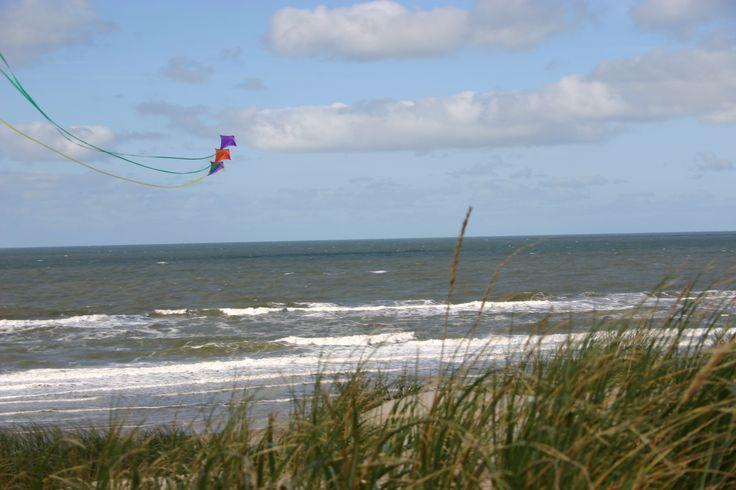 Drachen am Houstrup Strand #Dänemark #houstrup #Drache #Herbst