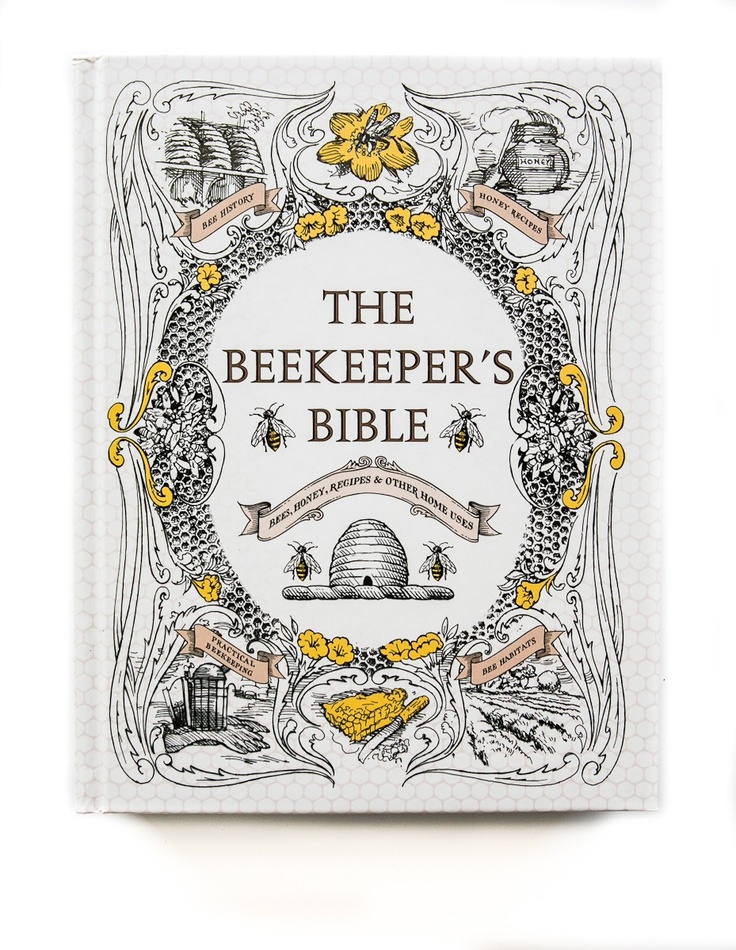 Beautiful Book Cover Design by Coralie Bickford-Smith // The Beekeepers Bible