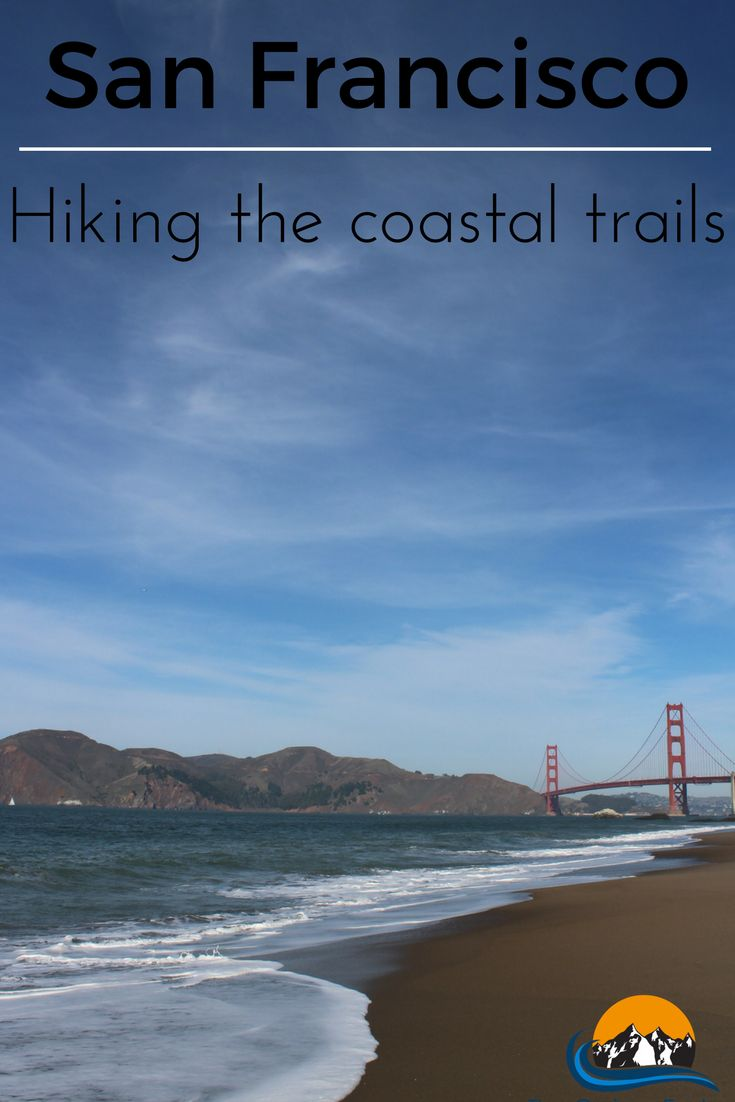 We have to admit that we were quite surprised with the amount of hiking trails there are in San Francisco and we couldn't miss the chance to do a route ourselves, to check out more of the natural side of the city and away from the chaos and traffic from Downtown. One morning we decided to do a 10km (6 mile) walk from Crissy Fields, walking westwards along the coastline via Golden Gate Bridge and Lands End until we arrived at our accommodation on Ocean Beach.