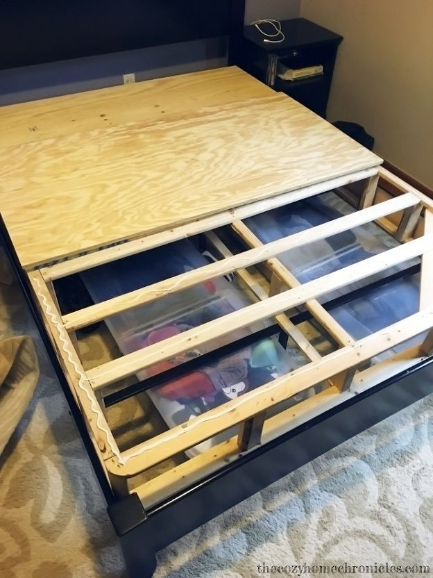 Diy Squeaky Bed Fix Box Spring Bed Frame Box Spring Bed Upholstered Box Springs
