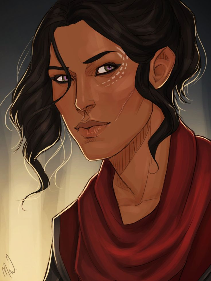 """mistressmjoll: """" Behold! My Inquisitor Kali Trevelyan! Drawn by the wonderfully talented @cocotingo! Thank you so much for this! I haven't stopped squealing with excitement! I hope we can do this again sometime soon!"""