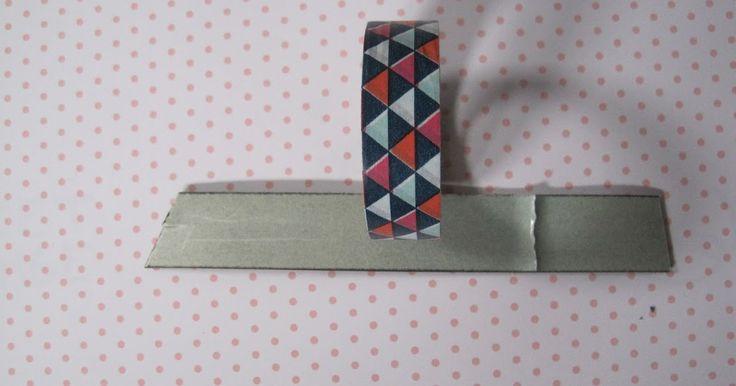 we doen eens zot: DIY | Washi-tape magneten