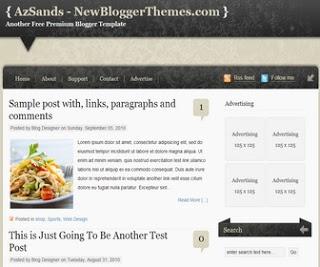 AzSands Blogger Template|BTemplates|Premium Blogger Templates|Blogger Themes|Blogspot Themes