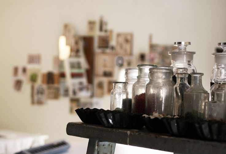 Studio--old jars & tins | Flickr - Photo Sharing!