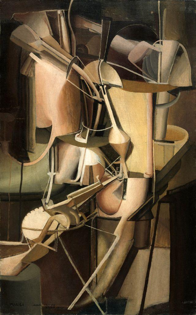 Marcel Duchamp Paints the Body Electric, by Joseph Nechvatal on September 29, 2014