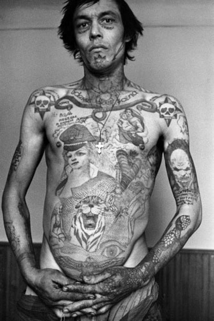 Russian Criminal Tattoo - Danzig Baldaev