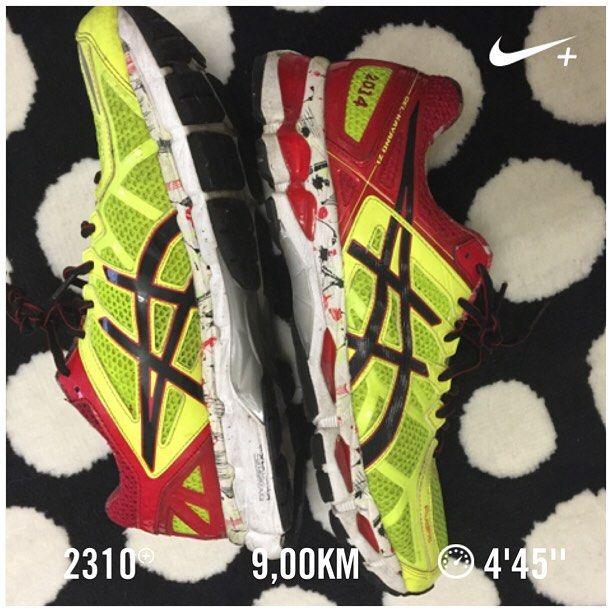 Penúltimo treino antes da maratona. Nove km a ritmo tranquilo. #run #running #corrida #marathon #maratona #maratonadoporto #3porsemana #300kmpormês #semprequecorroganho #asics #kayano21 by oarrumadinho