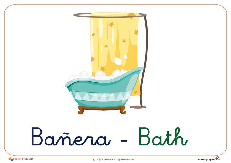 El cuarto de baño. Vocabulario básico para infantil ...