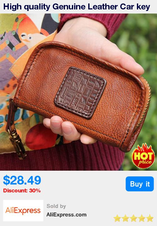 High quality Genuine Leather Car key wallet for women Key Case Wallet Luxury Gift For Men & Women Housekeeper Key Holder Key Bag * Pub Date: 19:26 Apr 5 2017