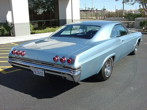 1965 Chevrolet Impala SS 396 in Mist Blue Maintenance of old vehicles: the material for new cogs/casters/gears/pads could be cast polyamide which I (Cast polyamide) can produce
