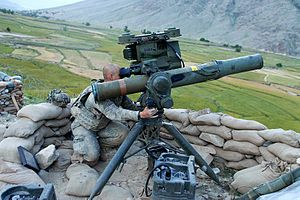 US Army - BGM-71 TOW is a 152mm Wire Guided American Anti-Tank Missile – has a Range of 4,200 meters – Shown a TOW Unit in Kunar Province, Afghanistan in May 2009