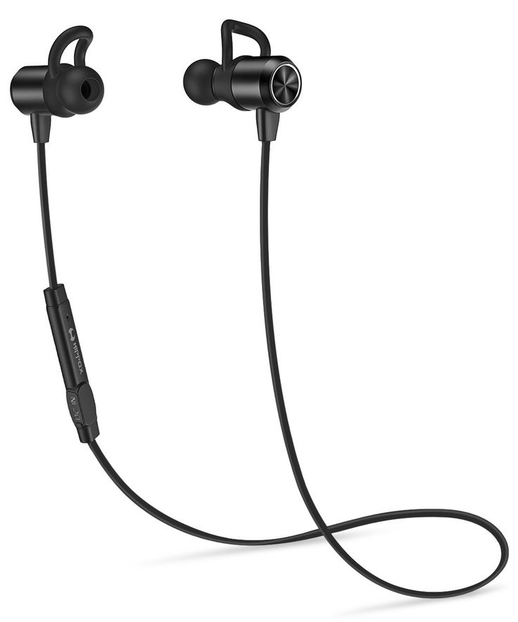 HIPPOX Bluetooth Headphones, Waterproof V4.1 IPX5 [Noise Cancellation] Wireless Sports Earbuds Headset with Mic for iPhone Samsung Galaxy and Android Phones. WATER RESISTANT - Extra protected against water and sweat, IPX5 water resistant design will enable you to listen even if you are having a run in the rain. GREAT SOUND QUALITY & NOISE REDUCTION - Provides intelligent noise reduction and excellent sound quality when answering calls without any delays or missed words. EASY TO WEAR - 6…