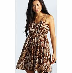 boohoo Millie Double Strap Animal Print Party Dress - Make your way stylishly through AW with an updated collection of going out dresses . Skaters and bodycons have been layered with lace, midis have been reworked with PU panelling and mesh inserts, maxi http://www.comparestoreprices.co.uk/dresses/boohoo-millie-double-strap-animal-print-party-dress-.asp
