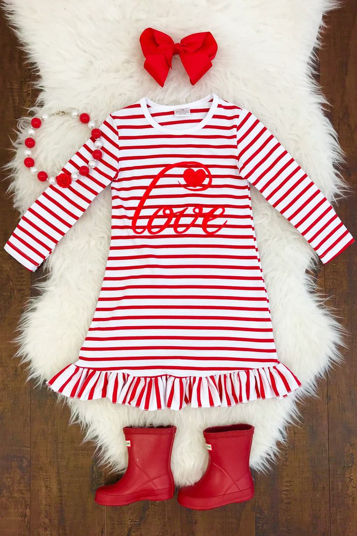 Excited to share the latest addition to my #etsy shop: Baby Girls, Toddler Girls, Valentine's Day Outfit, Girls Valentine Dress, V-Day Dress, Children Valentine Dress, Valentine's Day, Girls
