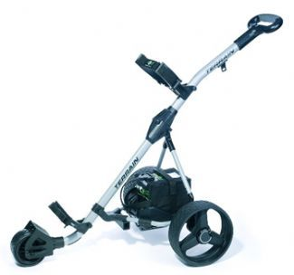 Hill Billy TERRAIN TROLLEY ELECTRIC GOLF TROLLEY 36 HOLE/SILVER HILL BILLY TERRAIN TROLLEY ELECTRIC GOLF TROLLEY The Terrain 18 and 36 hole electric golf trolley showcases the very latest in design and technology with power strength and reliability at the heart o http://www.comparestoreprices.co.uk/golf-trolleys/hill-billy-terrain-trolley-electric-golf-trolley-36-hole-silver.asp