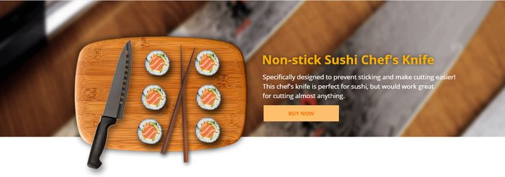 Non-Stick Sushi knife