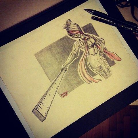 Fiora #lol #leagueoflegends #pencils #illustration #characterdesign #sketching #anime #animegirl #fiora