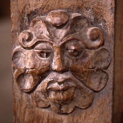 Dore Abbey carving Foliate Head - Green Man - Wikipedia, the free encyclopedia