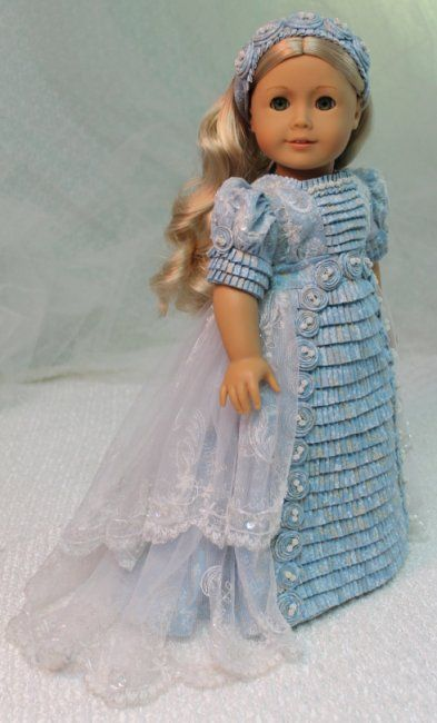 MHD Designs - Netherfield - Fashion Pattern for 18 Inch American Girl Dolls