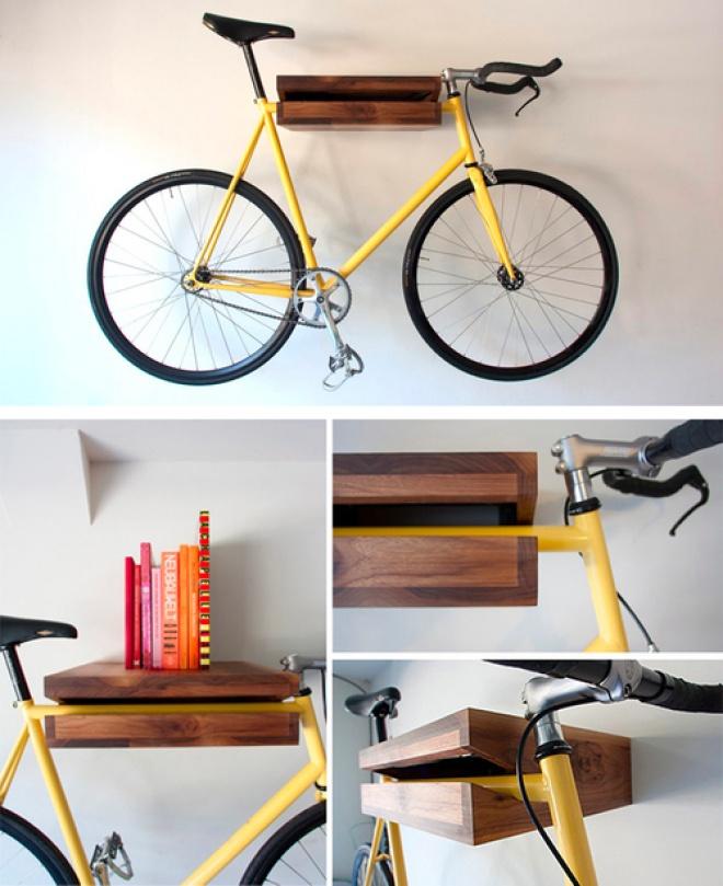Wooden bike mount, Established & Sons - Creative Journal