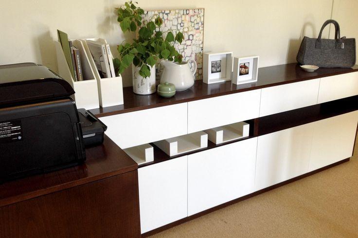 Custom designed joinery.Home Office