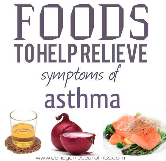 Get asthma relief by making small changes in your diet.