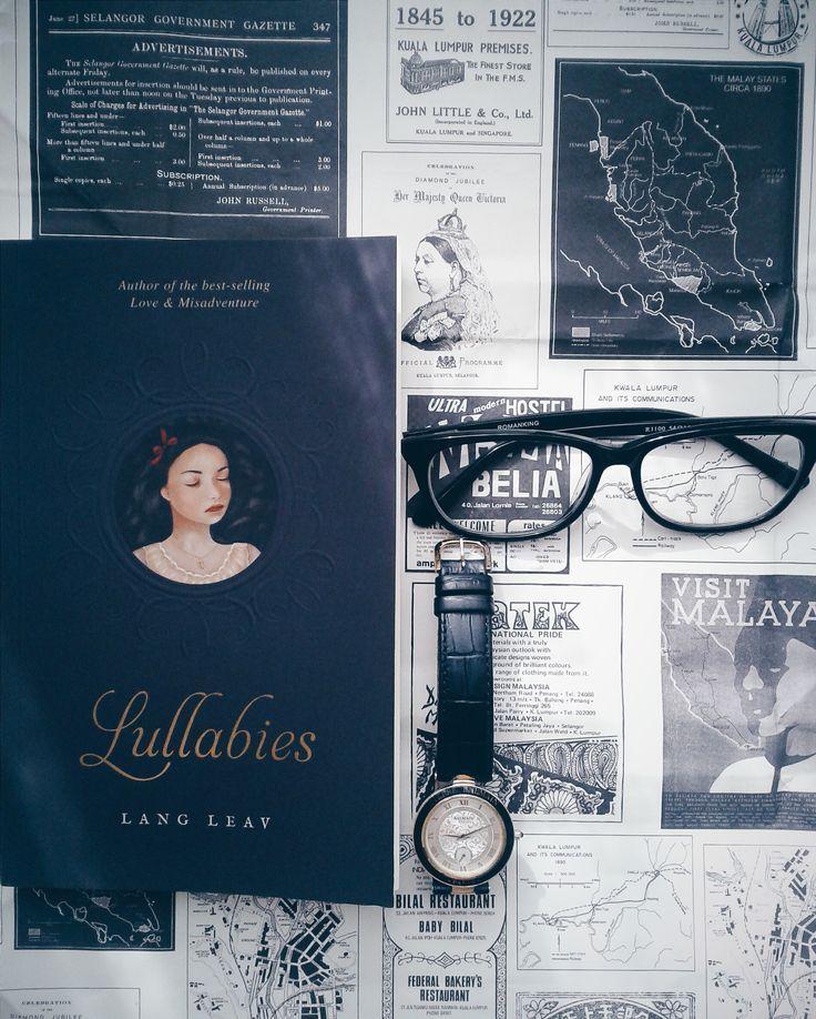 Lang Leav's new book Lullabies.