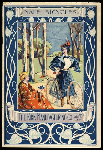 Yale bicycles for women, 1898